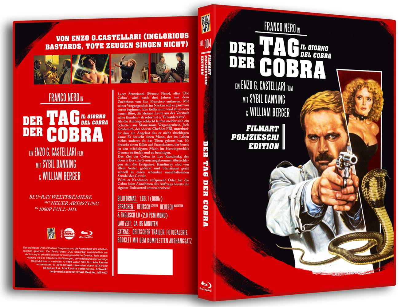 Der Tag der Cobra BluRay