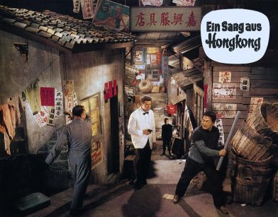 Ein Sarg aus Hongkong