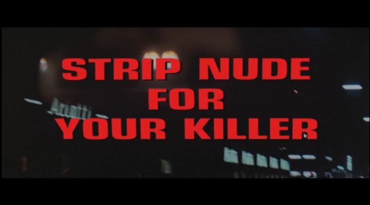 Nackt für den Killer