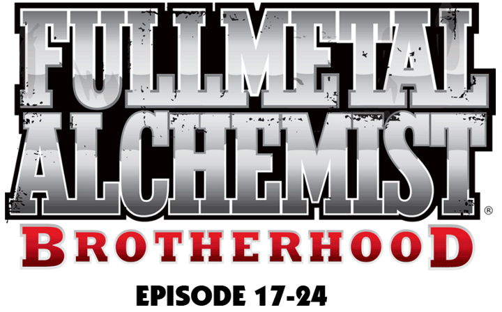 Fullmetal Alchemist Brotherhood Vol. 3 (Ep. 17-24) (2 Disc Set) - Titelschrift