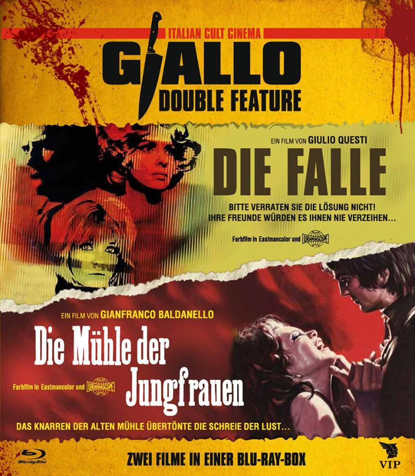 Giallo double bill La morte ha fatto l'uovo / Die Falle