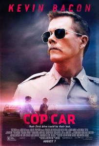 Cop Car Kevin Bacon poster