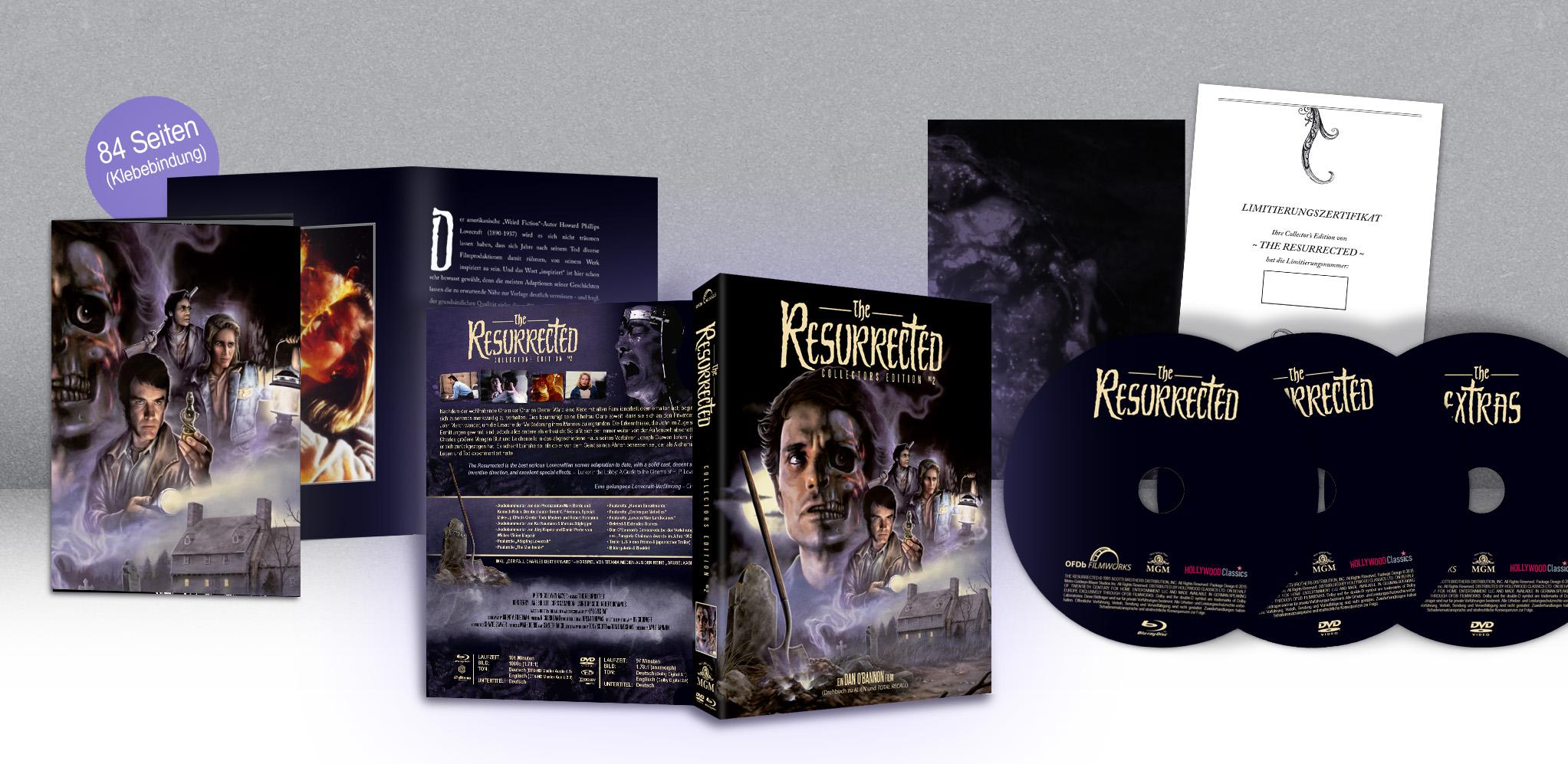 The Resurrected BluRay DVD