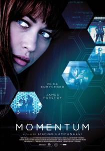 Momentum 2015 movie poster Olga Kurylenko
