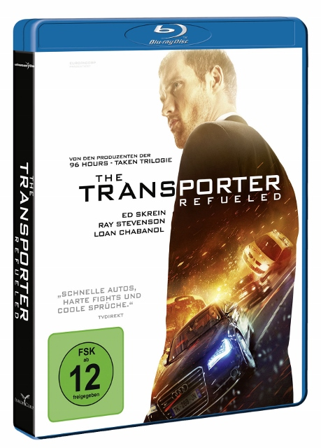 The Transporter - Refueled BluRay