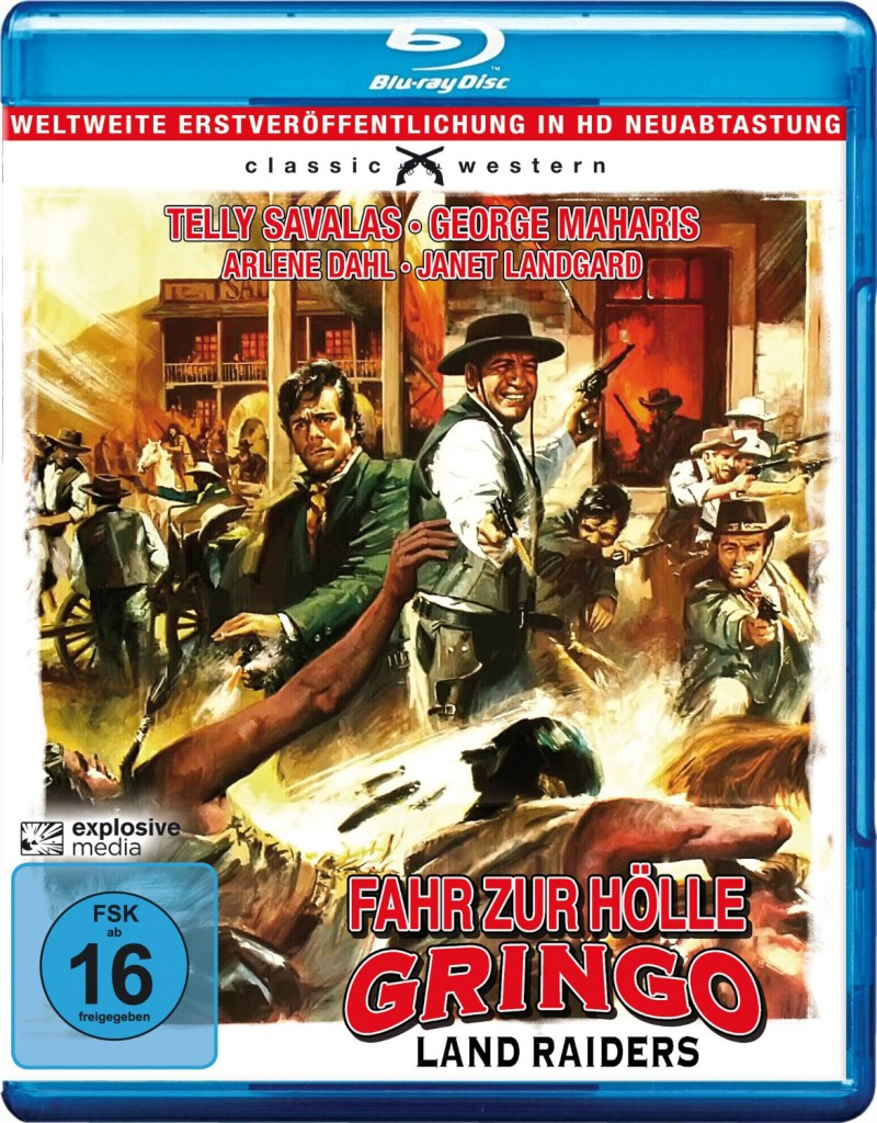 Land Raiders BluRay