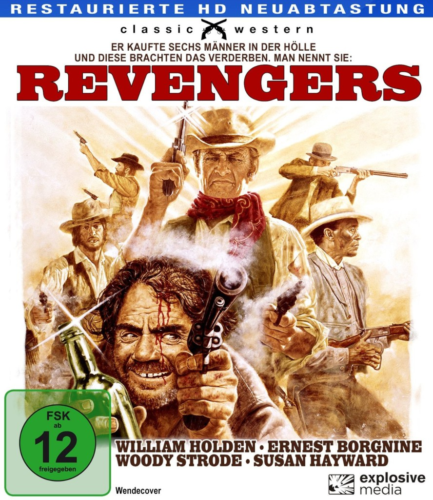 The Revengers BluRay