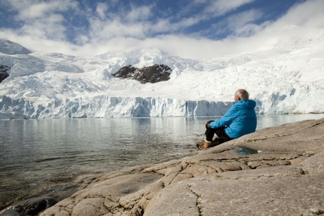 Zwischen Himmel und Eis