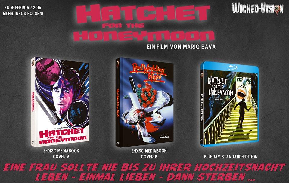 Hatchet for the Honeymoon BluRay DVD