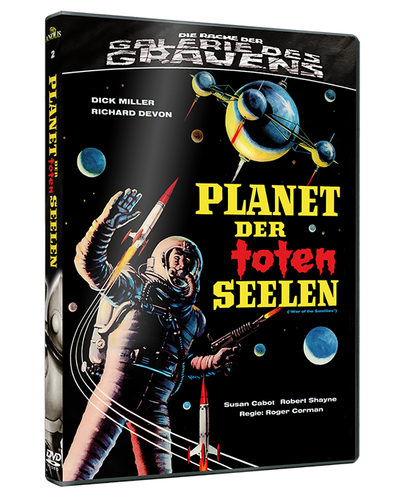 Planet der toten Seelen DVD