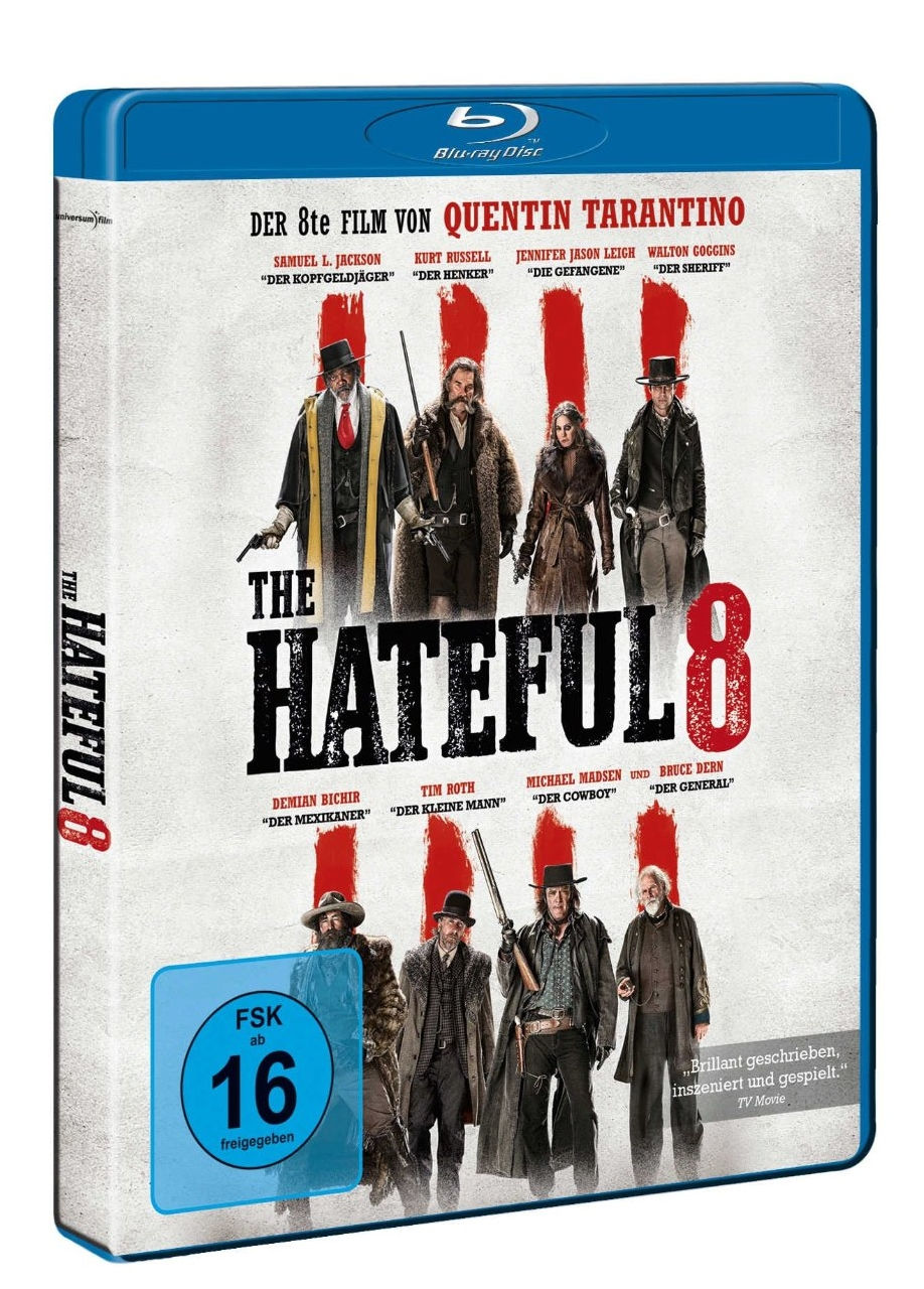 The Hateful Eight BluRay