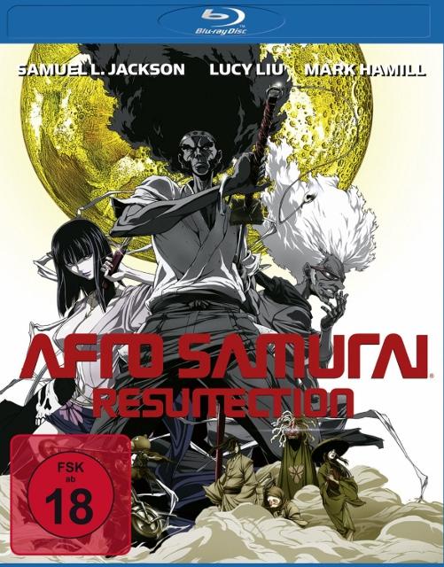 Afro Samurai + Afro Samurai Resurrection BluRay