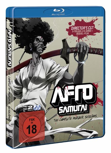 Afro Samurai + Afro Samurai Resurrection BluRay Directors cut
