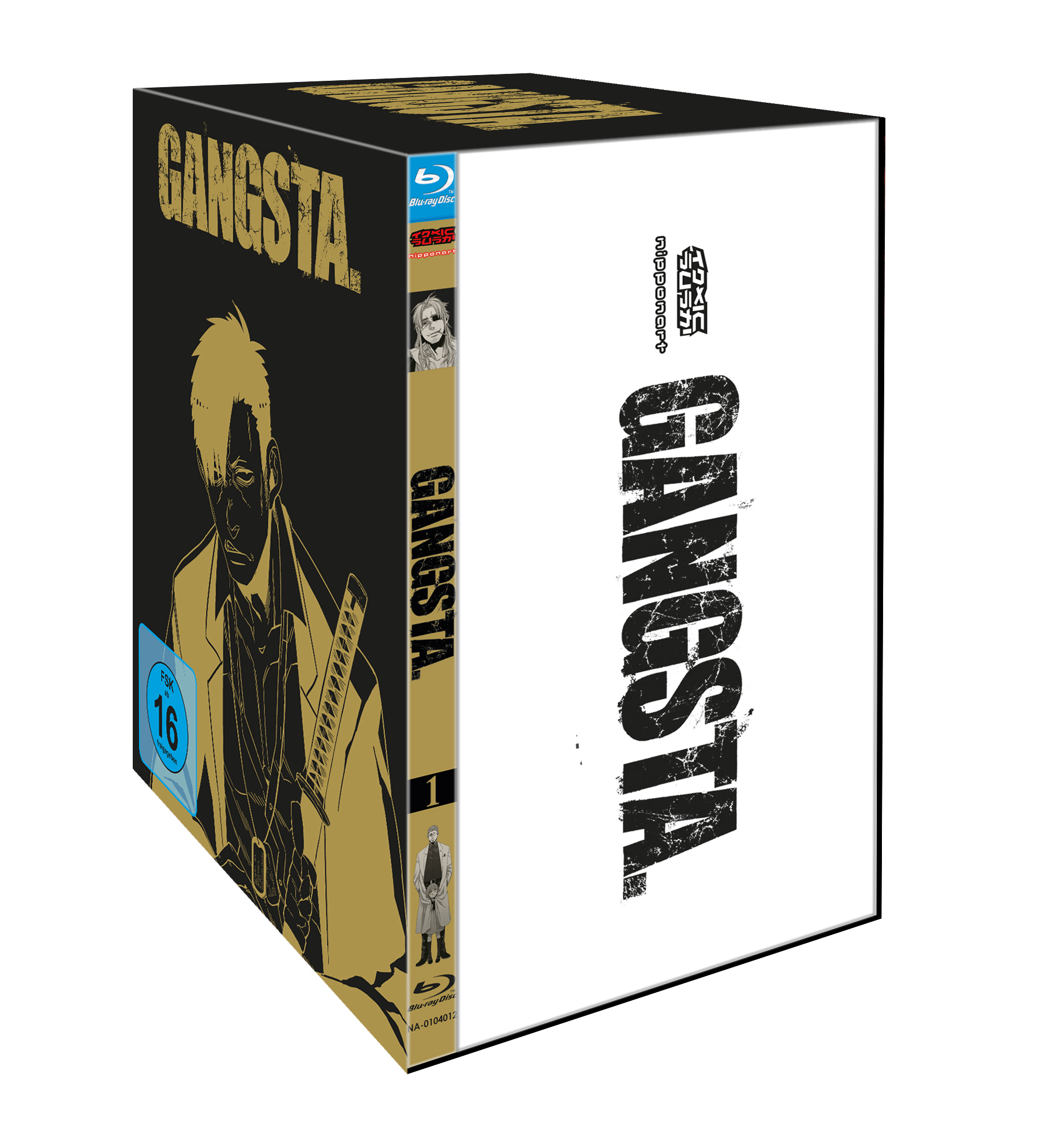 GANGSTA. BluRay
