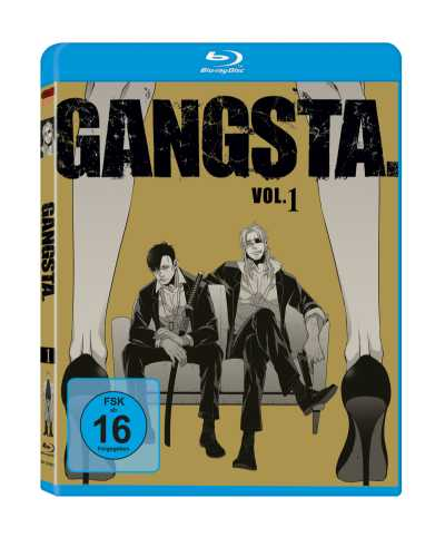 GANGSTA. BluRay Vol 1