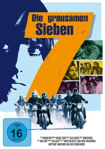 Die grausamen Siebe / Savage Seven DVD