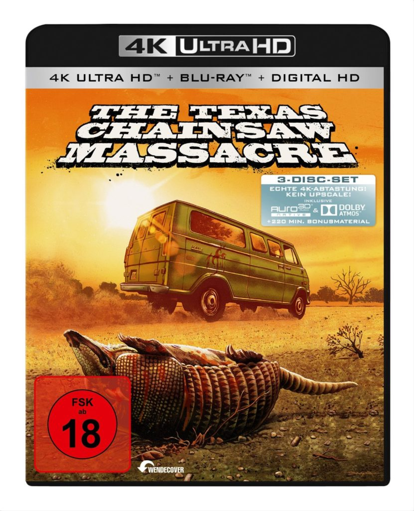Texas Chainsaw Massacre BluRay UltraHD 4k Uncut Remastered DVD