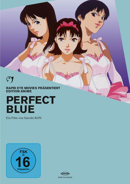 Perfect Blue - Pafekuto buru DVD BluRay