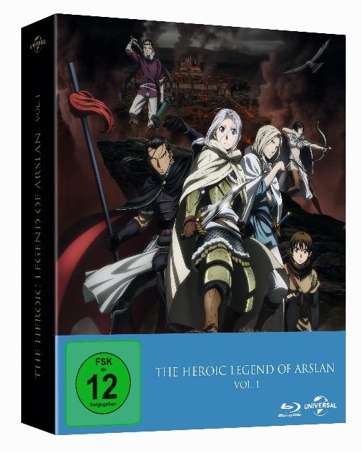 The Heroic Legend of Arslan BluRay DVD