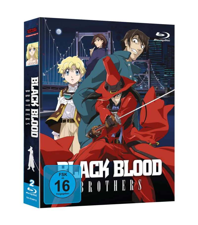Black Blood Brothers BluRay