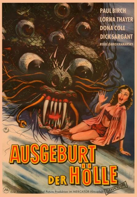 Ausgeburt der Hölle - The Beast with a Million Eyes