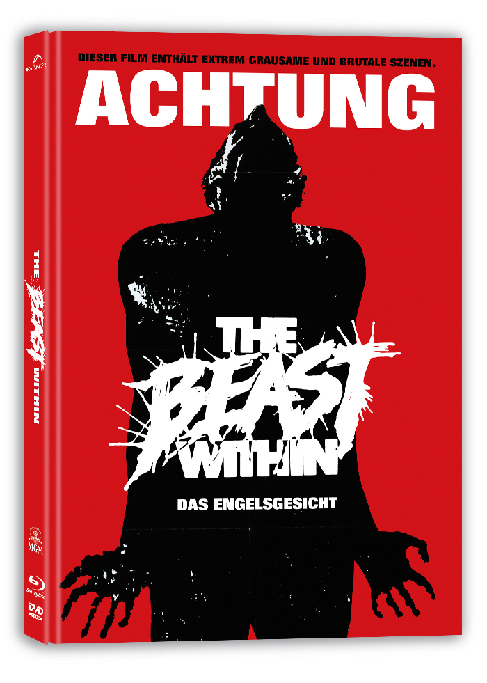 The Beast Within / Das Engelsgesicht - Drei Nächte des Grauens BluRay DVD mediabook