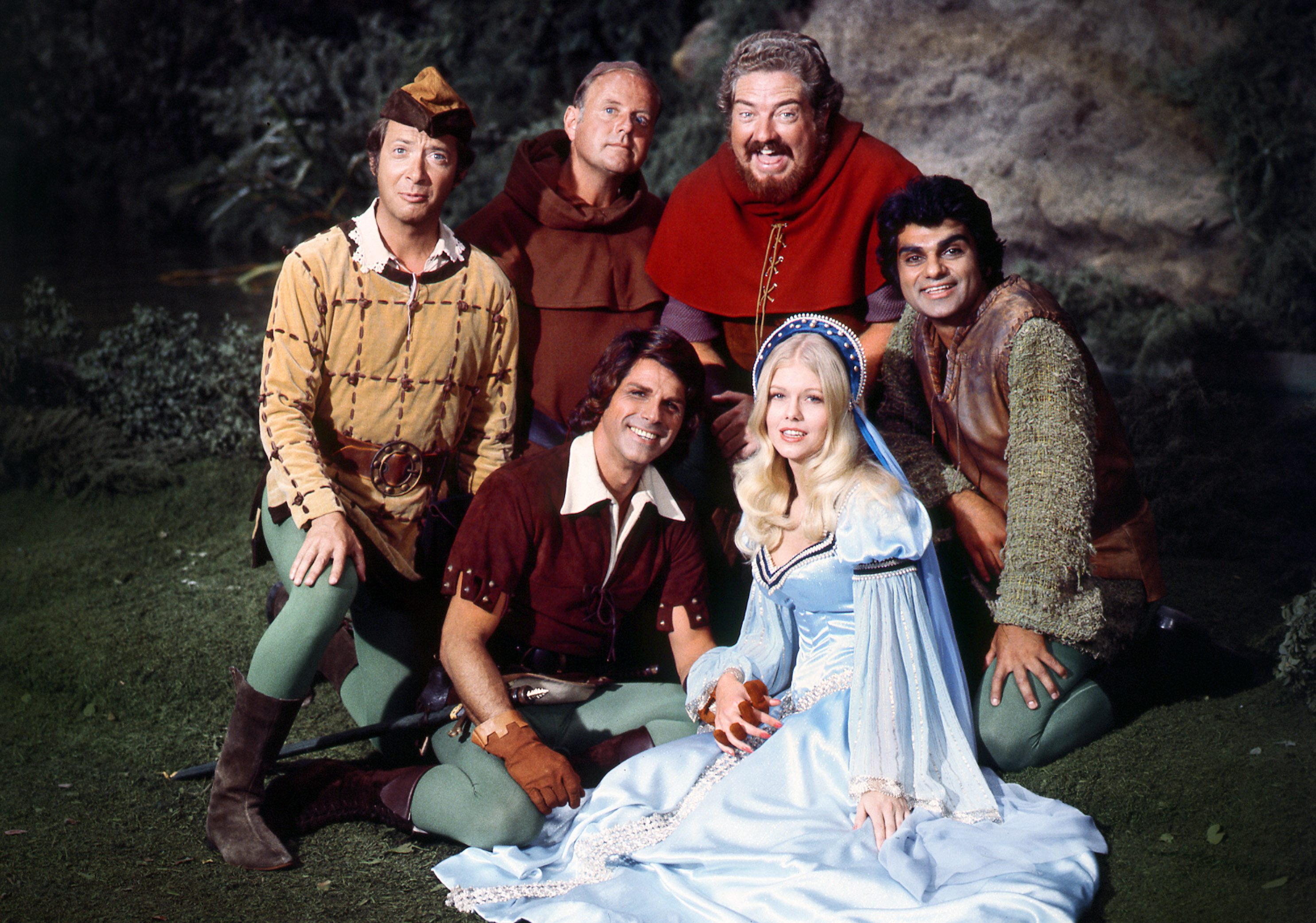 WHEN THINGS WERE ROTTEN - 1975 GALLERY BERNIE KOPELL, DICK VAN PATTEN, DAVID SABIN, RICHARD DIMITRI RICHARD GAUTIER, MISTY ROWE, IN FRONT