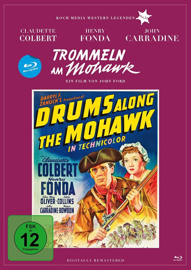 Trommeln am Mohawk BluRay Koch Media Rezension Filmkritik